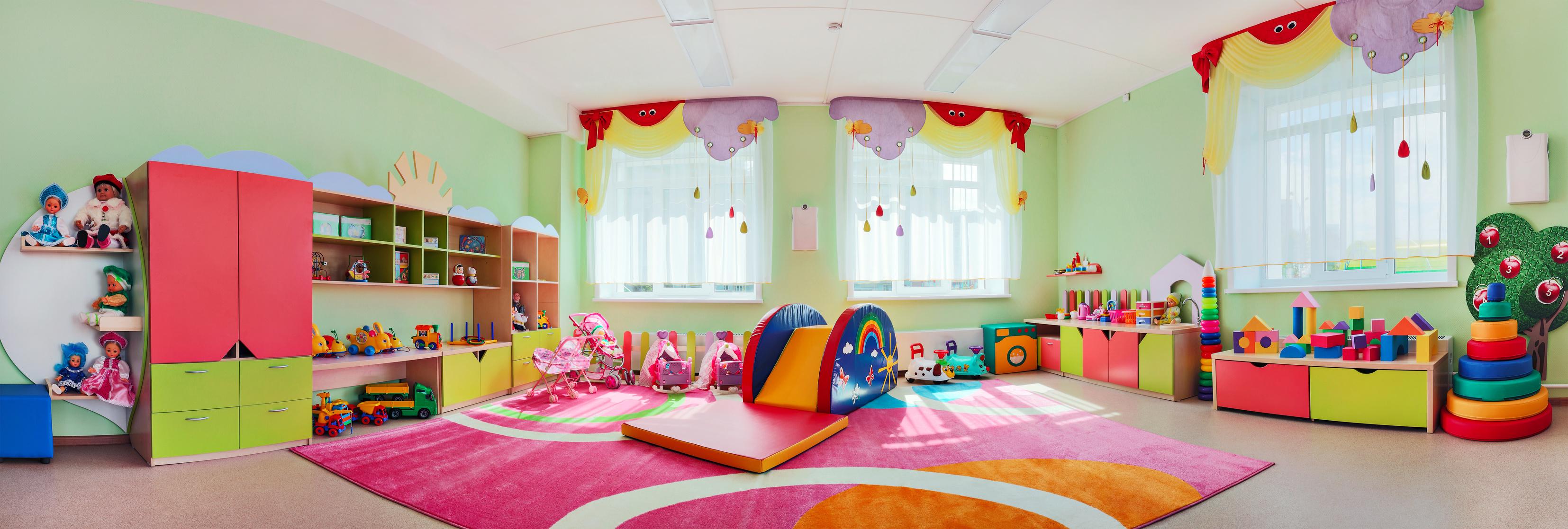 Ideas para Decorar Salones de un Jardín Infantil - Children\'s Spaces