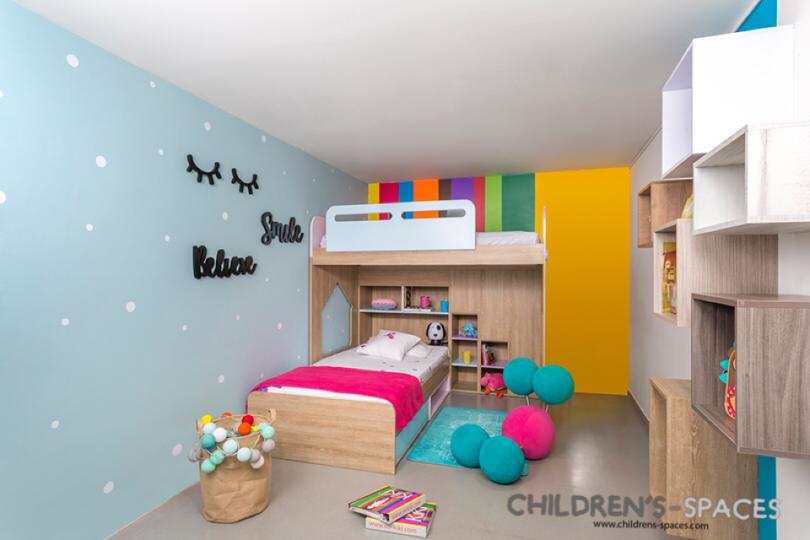 5 ideas eficaces en la decoraci n de dormitorios para ni as - Habitacion nina 2 anos ...