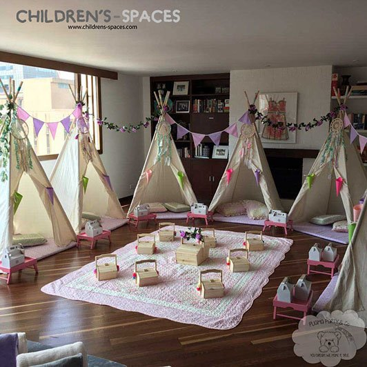fd17770e8 7 ideas que no pueden faltar en una pijamada infantil - childrens spaces