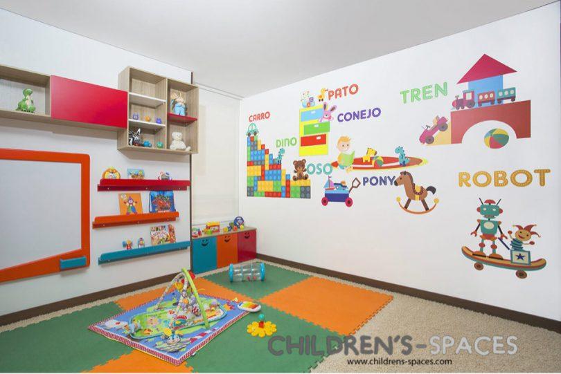 Dise o de muebles para un consultorio pedi trico for Muebles infantiles de diseno