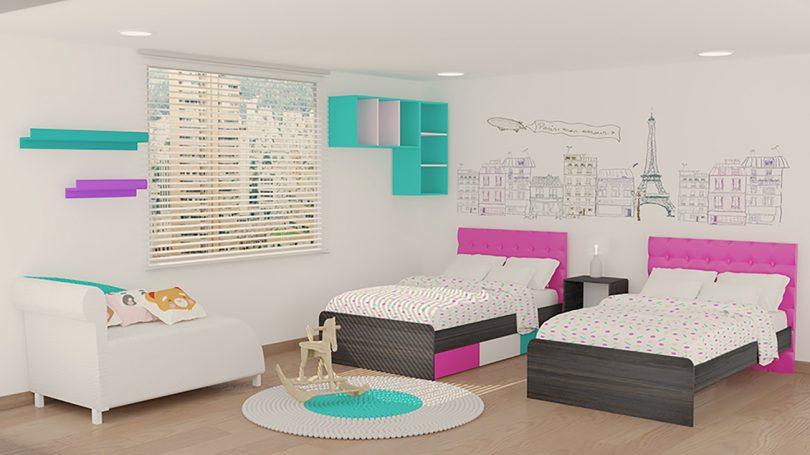 Dise o de habitaciones peque as para adolescentes for Diseno de habitacion para adolescente