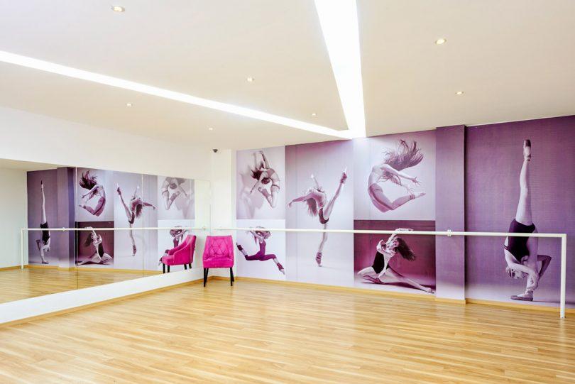 salón de ballet para niños, niñas y adolescentes - Children\'s Spaces