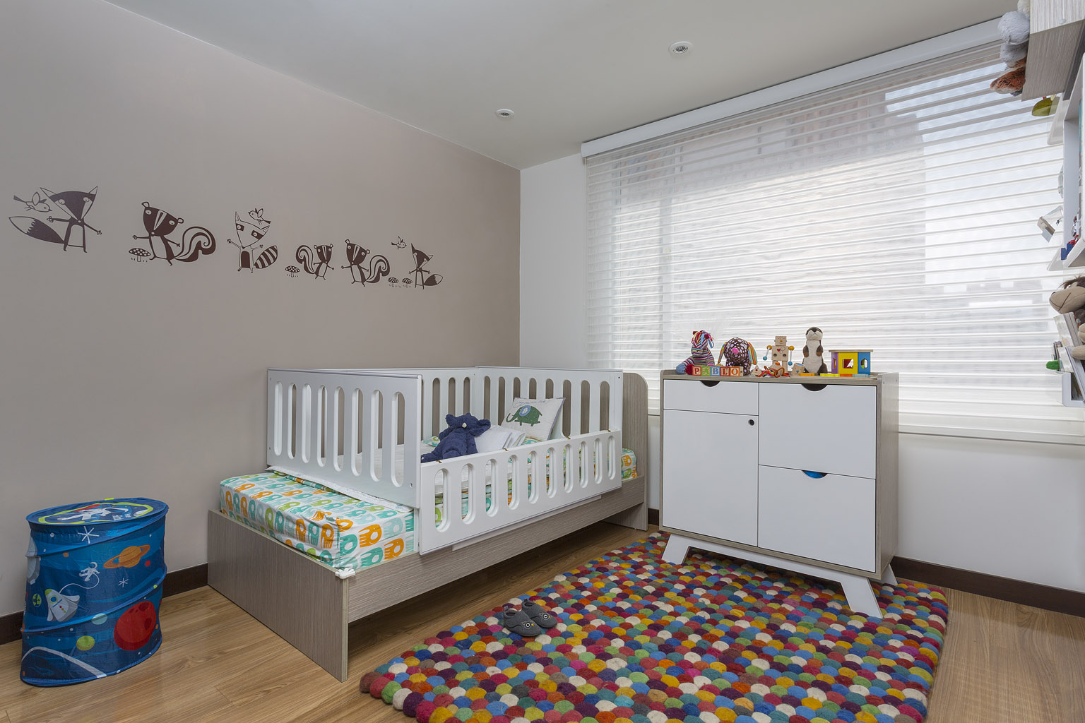 Cuartos para ni os y muebles para beb s novedades - Habitaciones decoradas para ninos ...