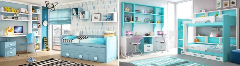 Colores Tendencia Para El 2019 En Habitaciones Infantiles - Imagenes-habitaciones-infantiles