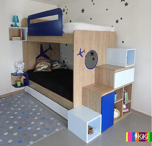 Tendencias 2019 en habitaciones infantiles y juveniles - Habitaciones infantiles decoracion paredes ...