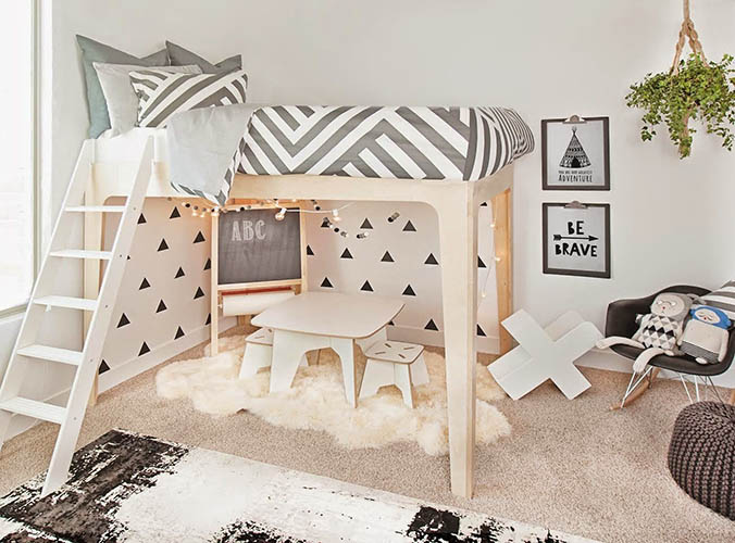 Tendencias 2019 en cuartos de juegos infantiles - Children\'s Spaces