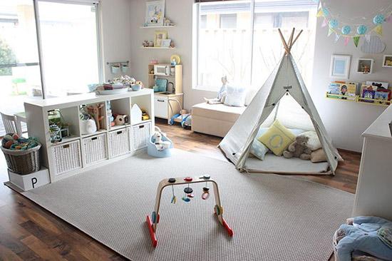 Tendencias 2019 en cuartos de juegos infantiles - Children\'s Spaces